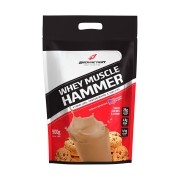 Whey Muscle Hammer 900g Refil Cookies e Cream Bodyaction