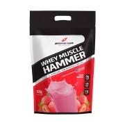 Whey Muscle Hammer 900g Refil Morango Bodyaction