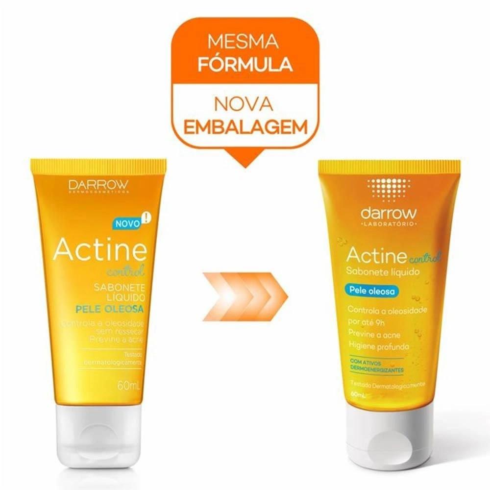 Actine Control Sabonete Líquido Antioleosidade 60mL