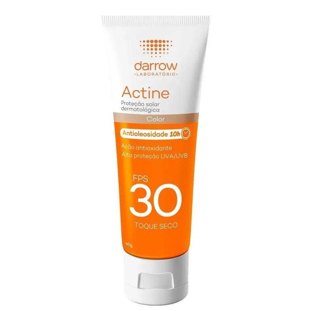 Actine Protetor Solar FPS 30 com Cor 40g Darrow