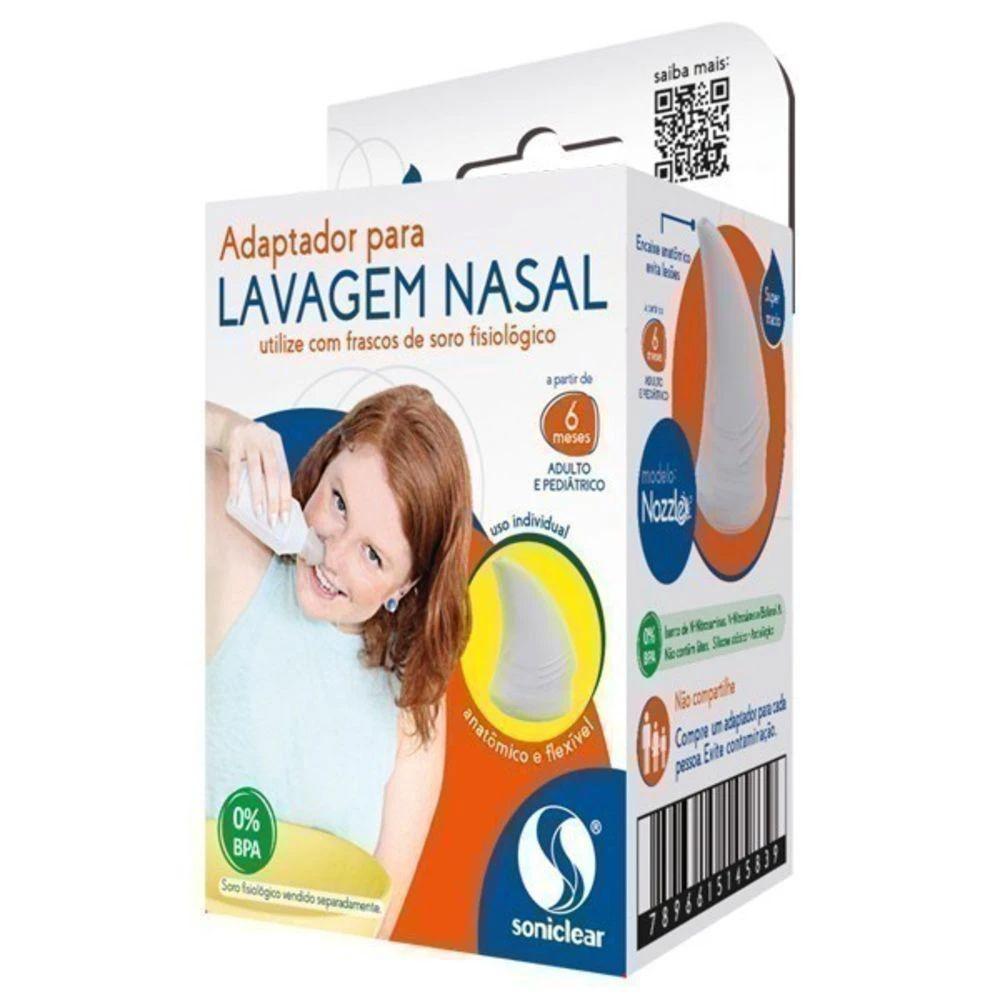 Adaptador para lavagem nasal Soniclear Nozzle