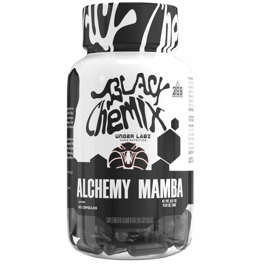 Alchemy Mamba Termogênico com 60 cápsulas Black Chemix