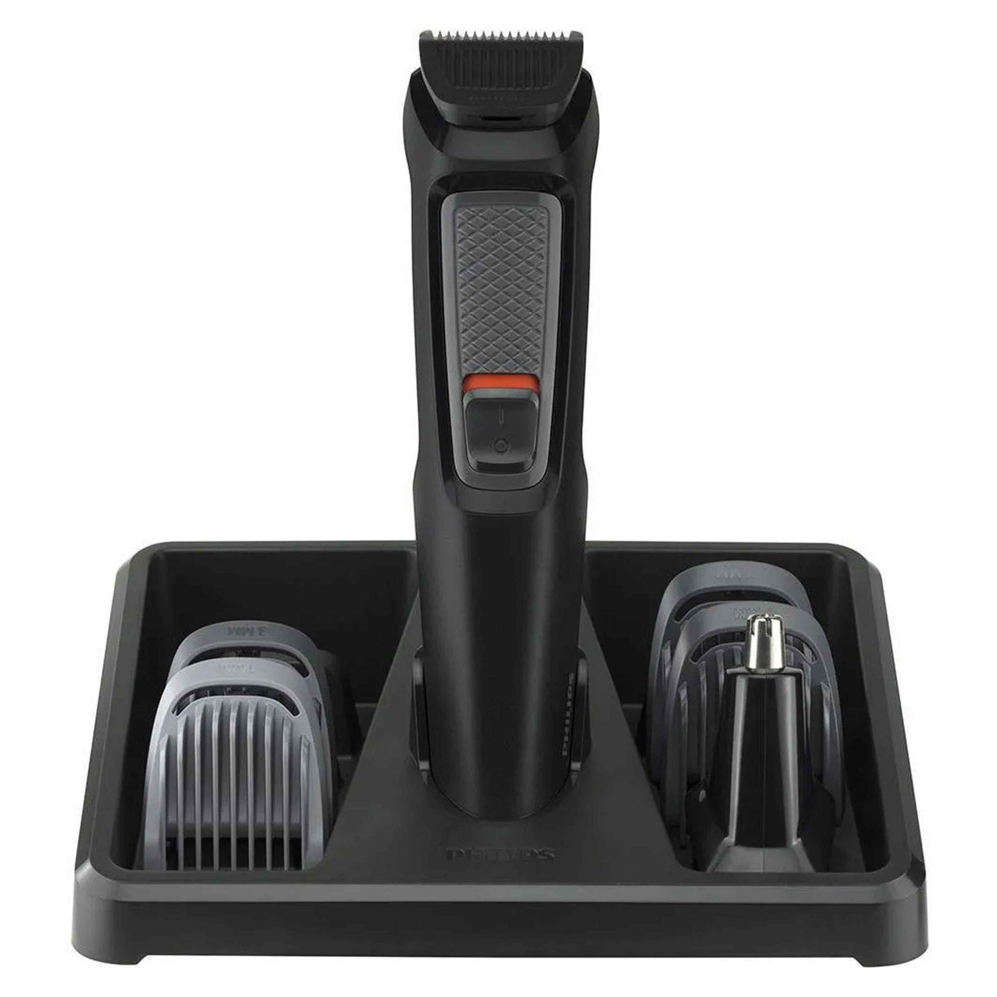 Aparador De Barba Philips Multigroom Com 6 Acessórios Mg3711/15