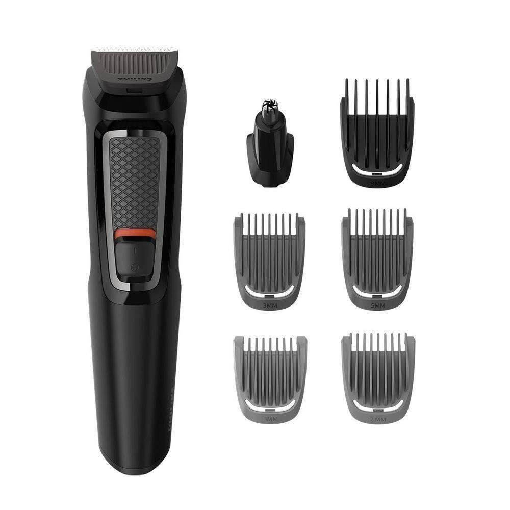 Aparador De Barba Philips Multigroom Com 7 Acessórios Mg3721/15
