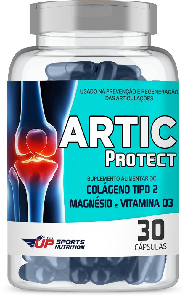 Artic Protect Colágeno Tipo 2 (CT-II) 40mg Com 30 Cápsulas