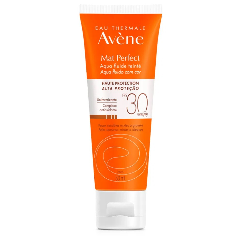 Avene Protetor Solar FPS30 Matte Perfect Com Cor 50mL