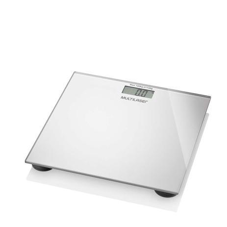 Balança Corporal Digital Multilaser Digi-Health Prata HC021