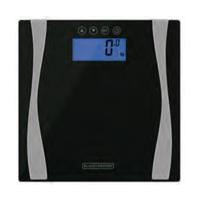 Balança De Bioimpedância Black Decker Bk60-br Até 180kg