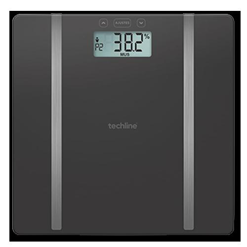 Balança Digital Corporal de Bioimpedância Techline TEC-117 180Kg