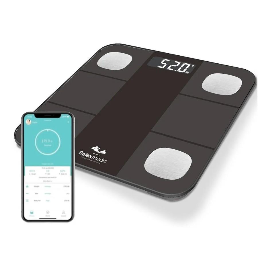Balança Digital Smart Bioimpedancia App Bluetooth Relaxmedi