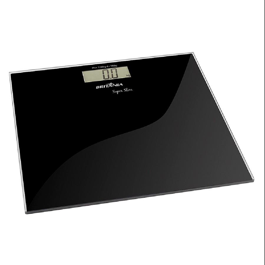 Balança Digital Super Slim Display Digital Britânia Bivolt