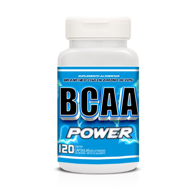 BCAA POWER com 120 cápsulas Up Sports Nutrition