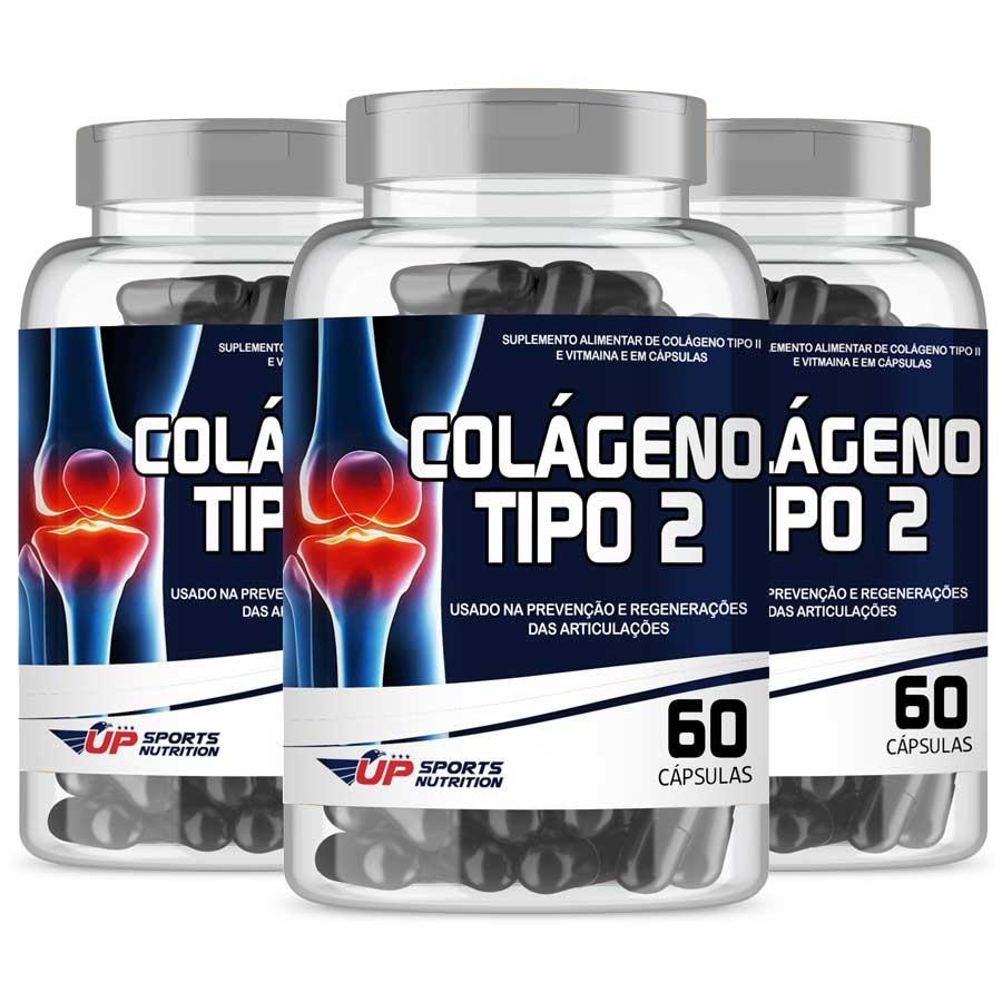 Colágeno Tipo 2 40mg com 60 cápsulas Leve 3 Pague 2