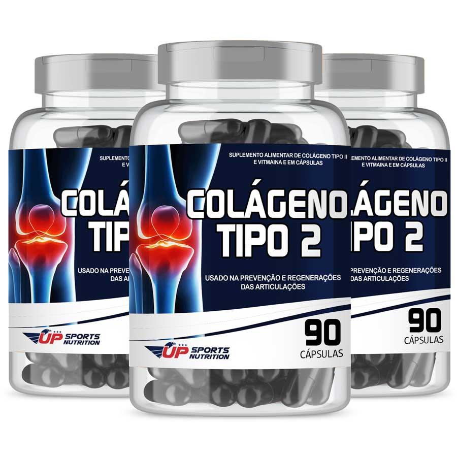 Colágeno Tipo 2 40mg com 90 cápsulas Leve 3 Pague 2