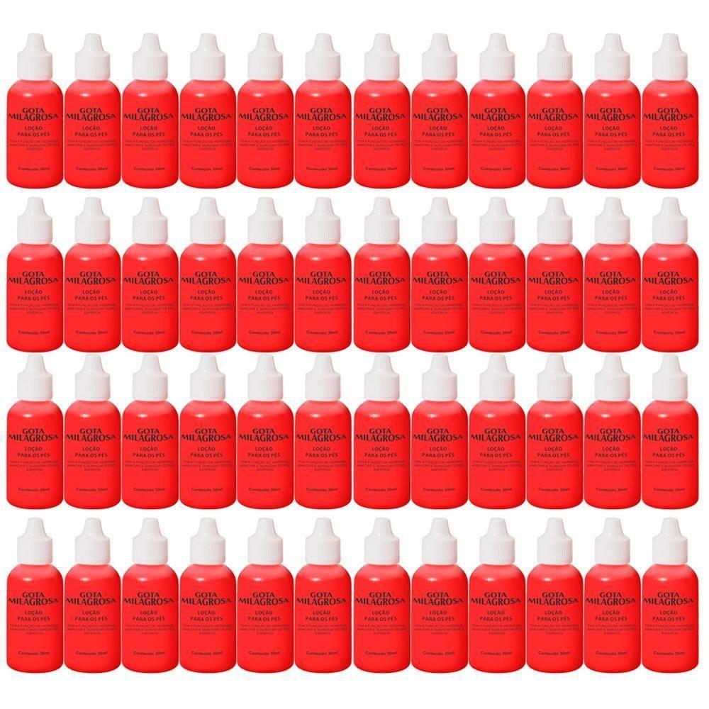 Combo 48 Gotas Milagrosas Para Pés - Combate Rachadura & Ressecamento - 30ml