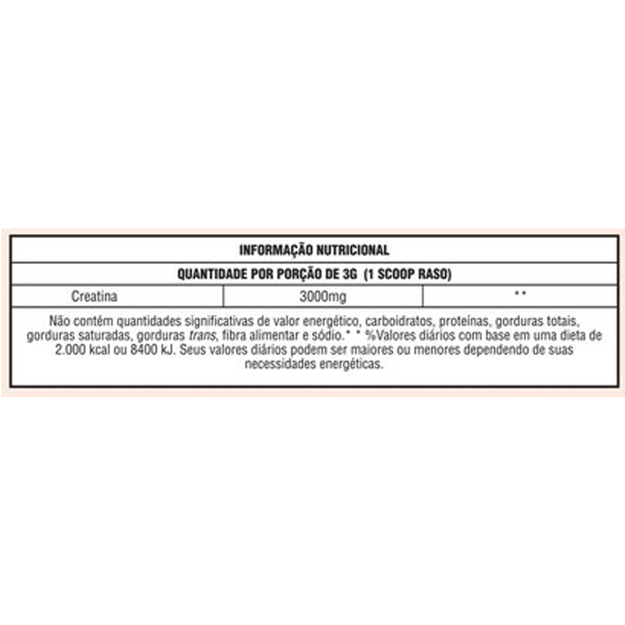 Creatina Monohidratada Autonomia de 20 Dias 70g Body Action