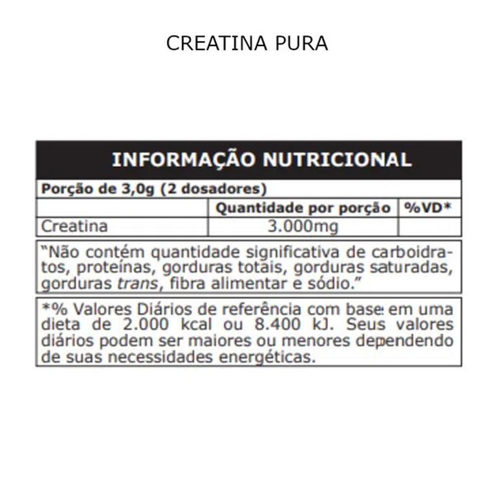 Creatina Monohidratada Micronizada Pura pó 100g Probiótica