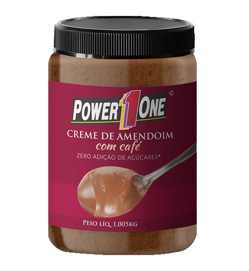 Creme de Amendoim com Café 1kg - Power 1 One