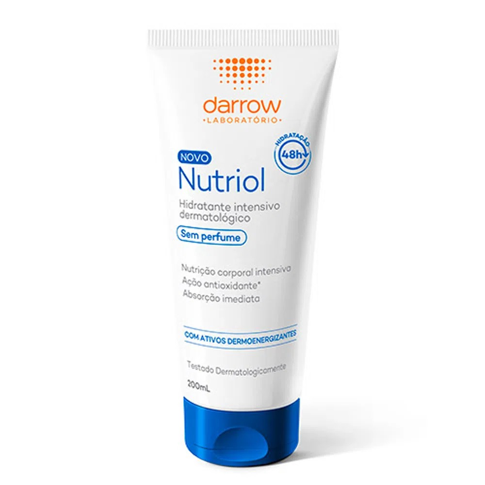 Darrow Nutriol Sem Perfume Loção Hidratante Corporal 200mL