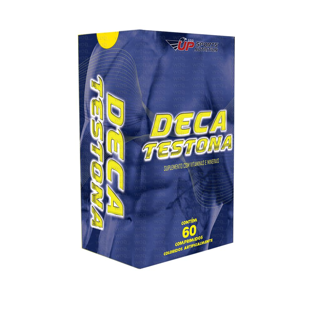Deca Testona com 60 comprimidos Up Sports Nutrition
