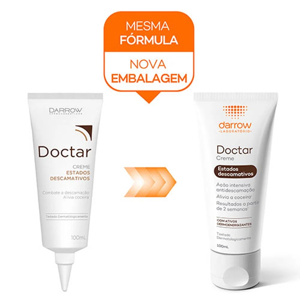 Doctar Creme Darrow Tratamento Anticaspa 100mL