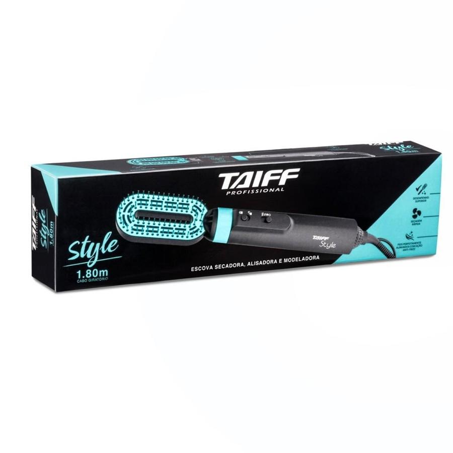 Escova Secadora Alisadora e Modeladora Taiff Style 127v