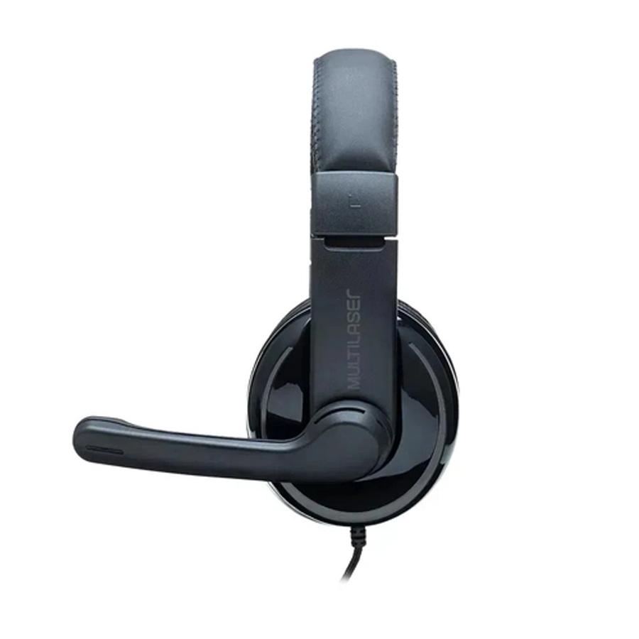 Headset PRO Multilaser P2 Preto e Cinza PH316