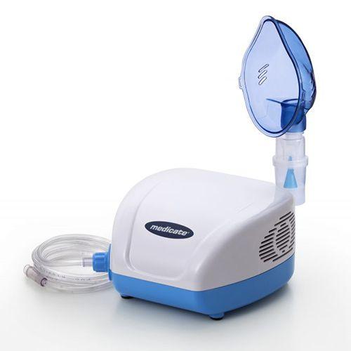 Inalador Nebulizador de Ar Comprimido Medicate MD 1300 Bivolt