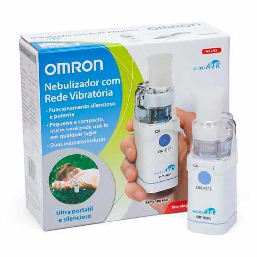 Inalador Nebulizador Ultra Portátil Micro Air Omron NE-U22