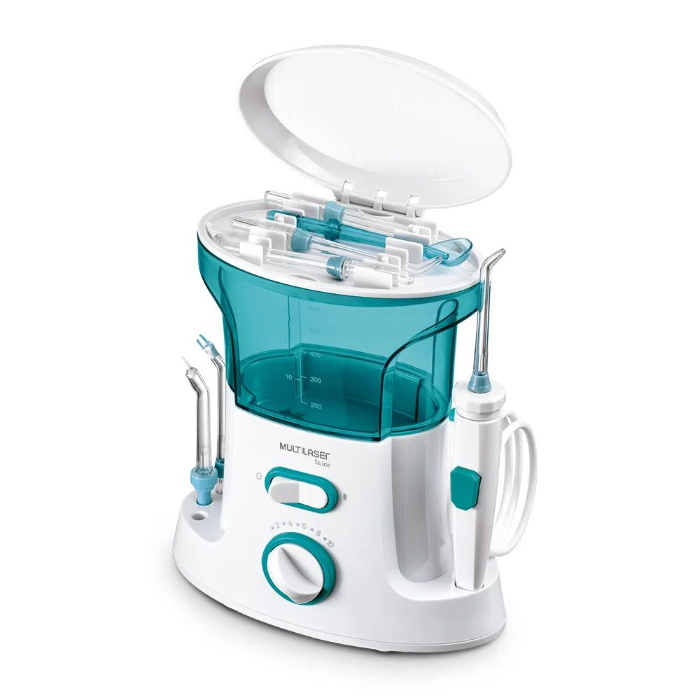 Irrigador Oral Clearpik Portable Limpeza Profunda 7 Bicos Multilaser - HC037
