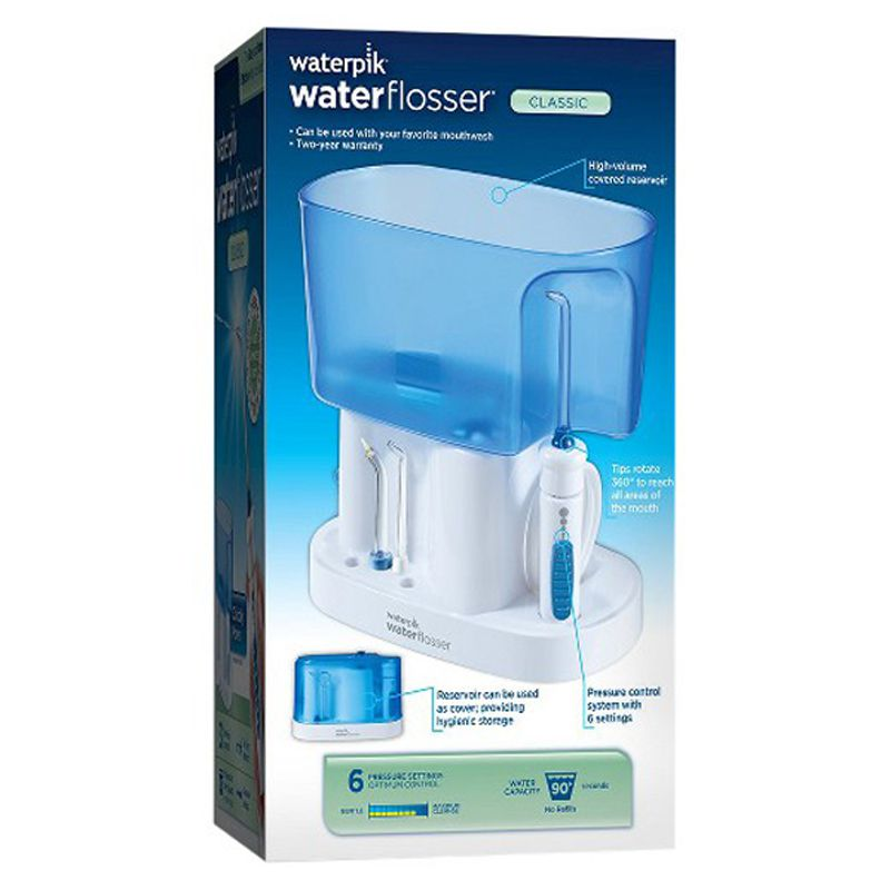 Irrigador Oral Waterpik Water Flosser Classico WP-70B 110volt