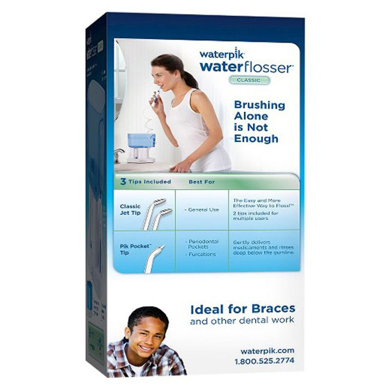 Irrigador Oral Waterpik Water Flosser Classico WP-70B 220volt