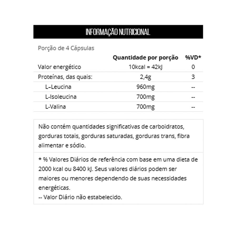 Kit Bcaa 2400 C/ 60 Cápsulas + Deca Testona C/ 60 Comprimidos