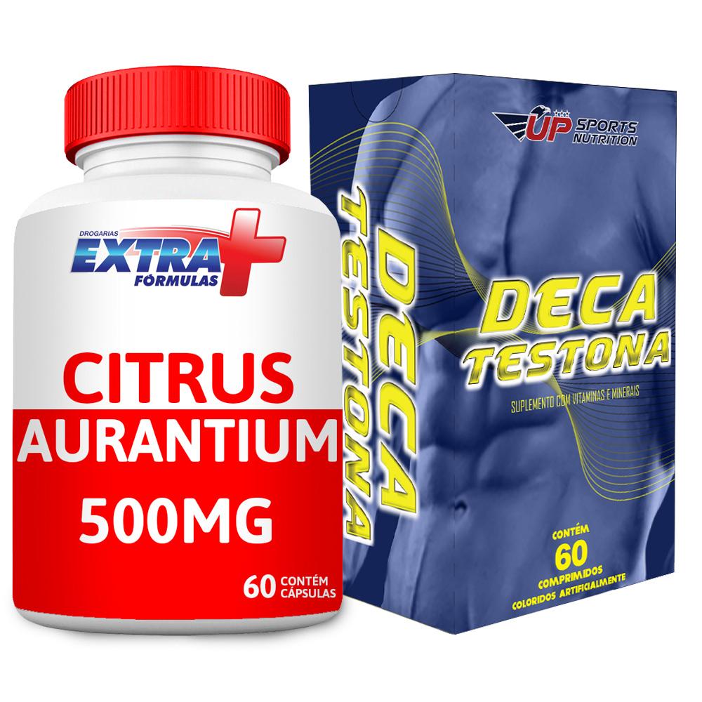 Kit Citrus Aurantium 500mg C/ 60 + Deca Testona C/ 60