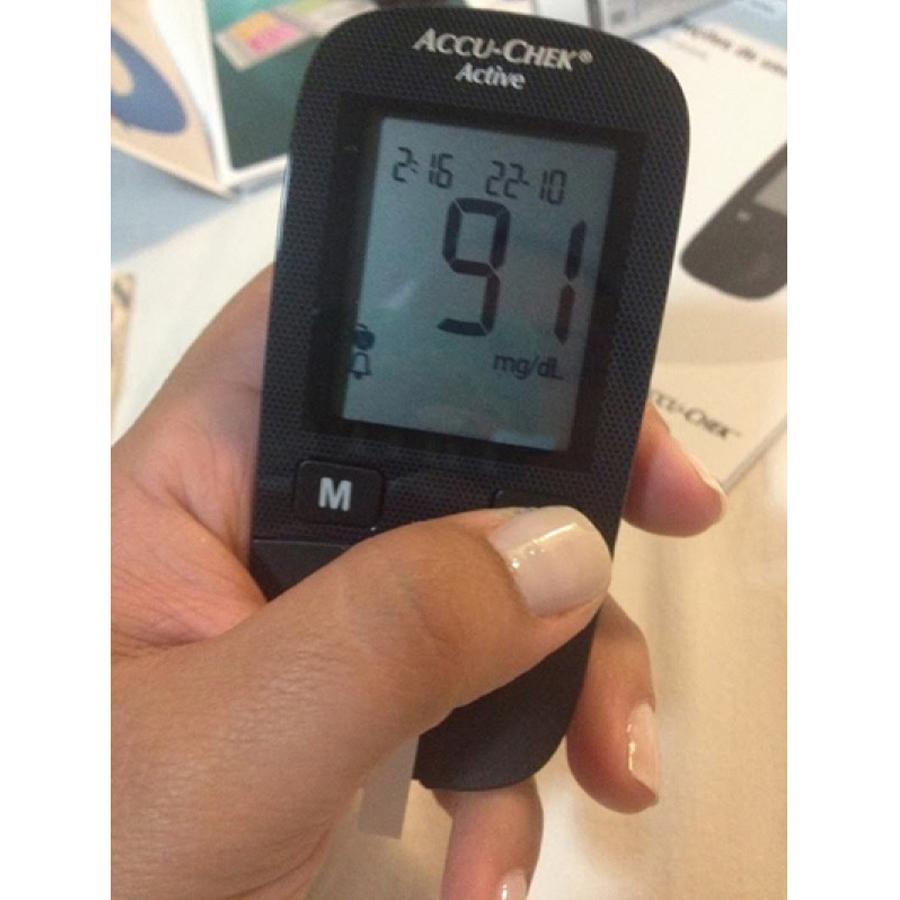 Medidor De Glicose Accu-chek Active
