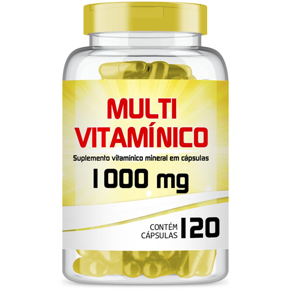 Multivitamínico de A-Z 1000mg com 120 cápsulas gelatinosas