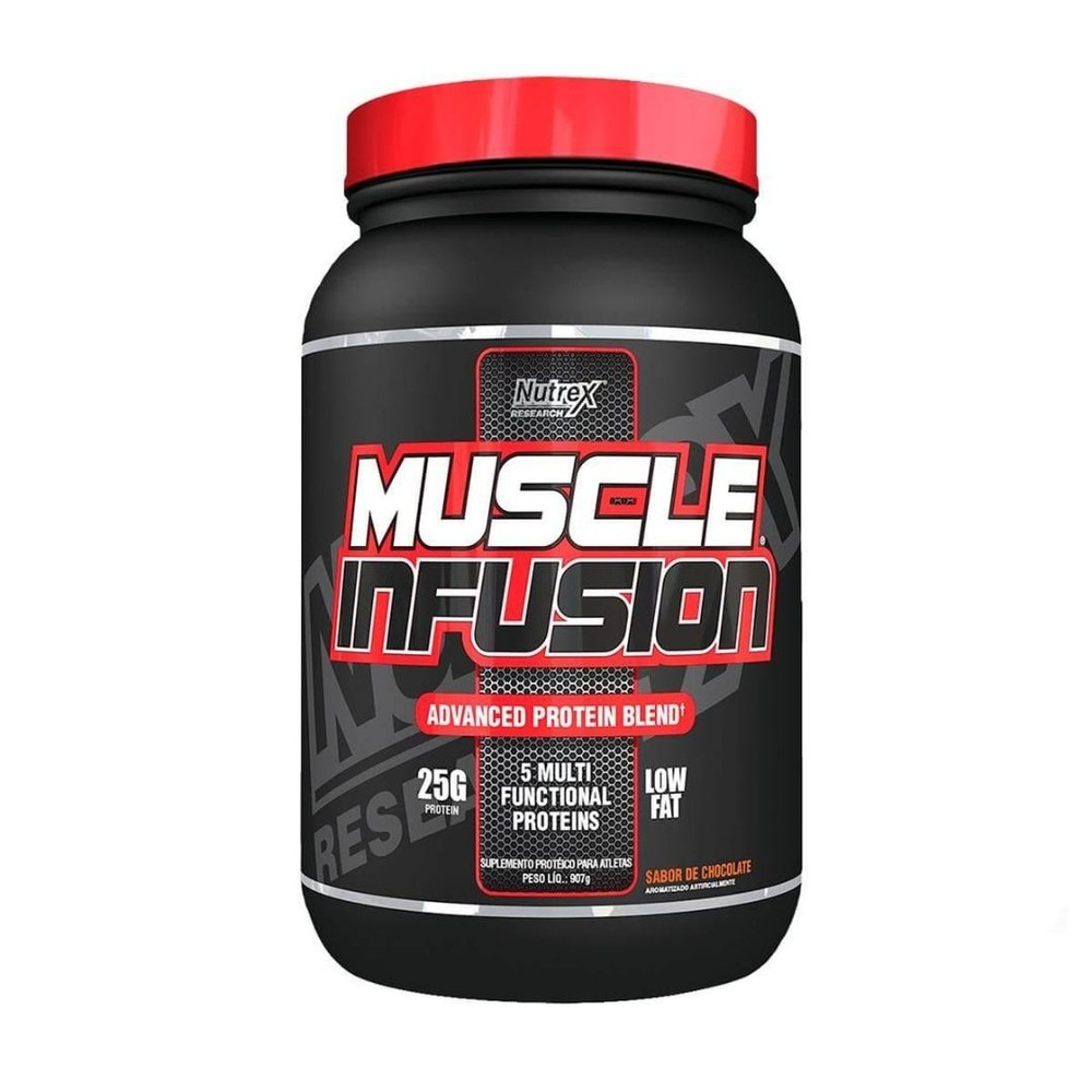 Muscle Infusion Whey Blend 907g Chocolate Nutrex Research