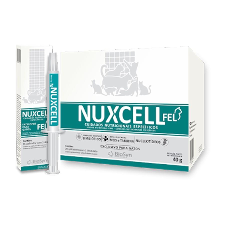 Nuxcell FEL Ampola 2g Suplemento Vitamínico BioSyn
