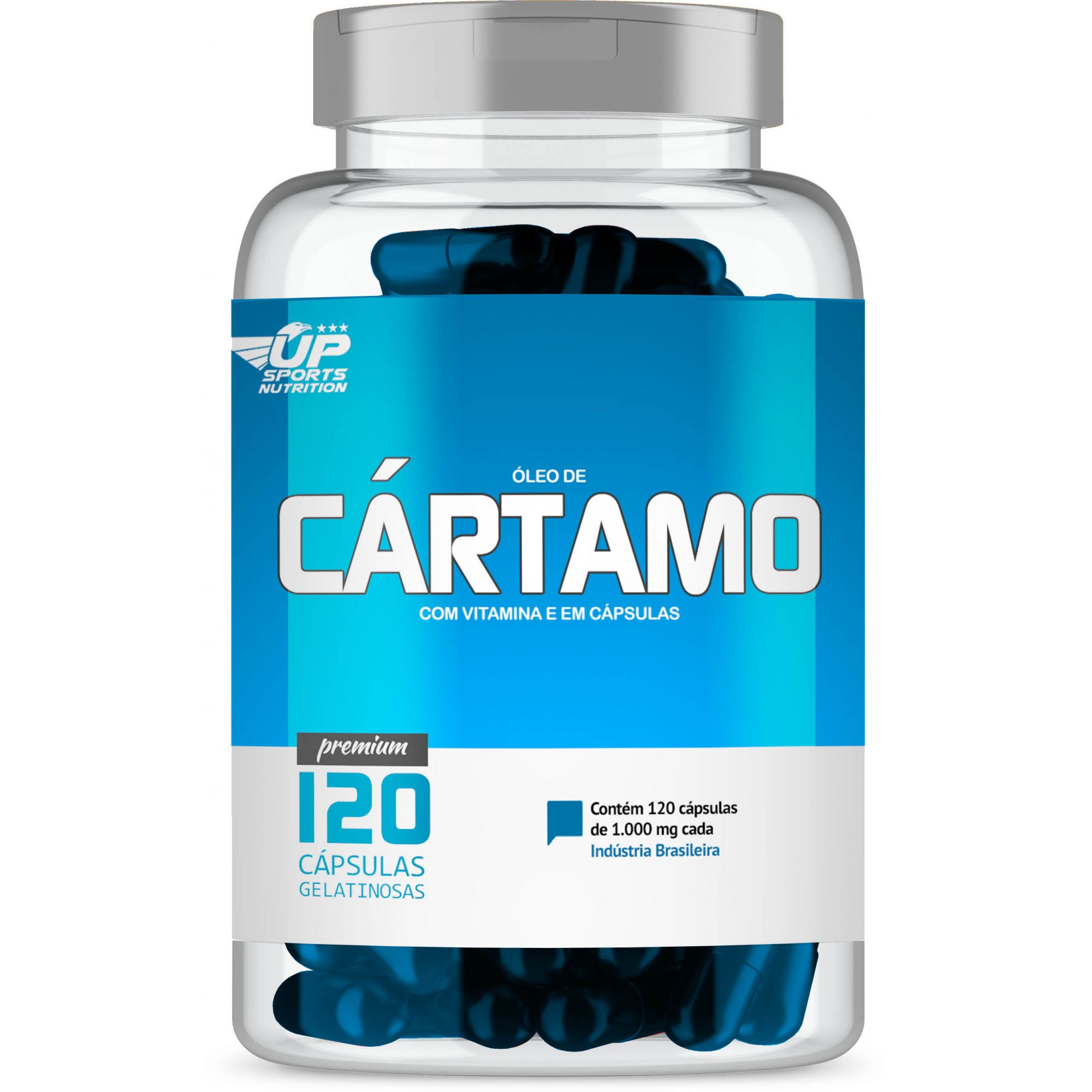 Óleo de Cartamo 1000mg com 120 cápsulas Up Sports Nutrition