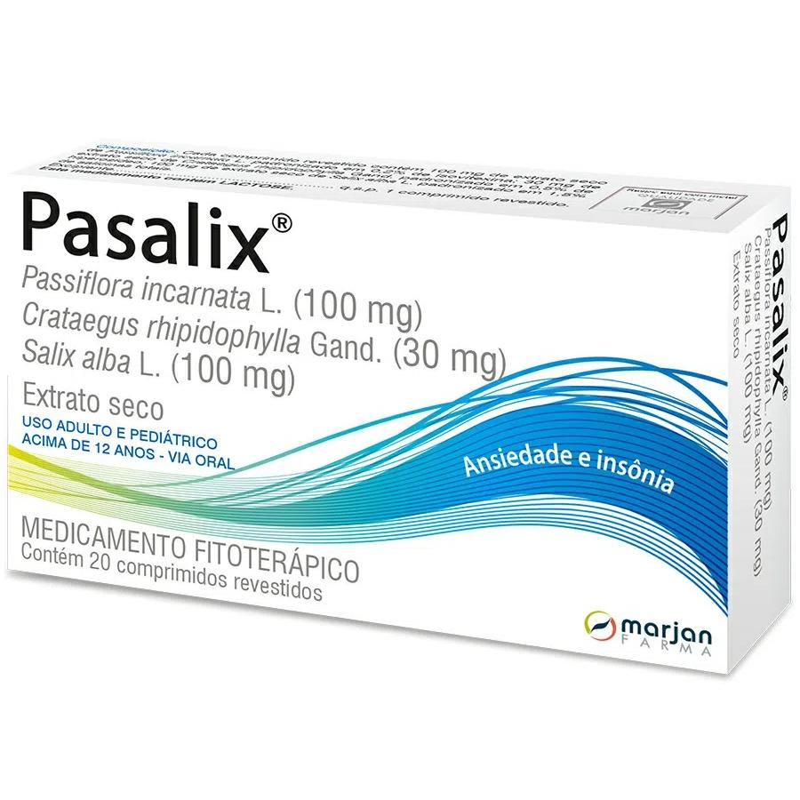 Pasalix Extrato Seco com 20 comprimidos revestidos