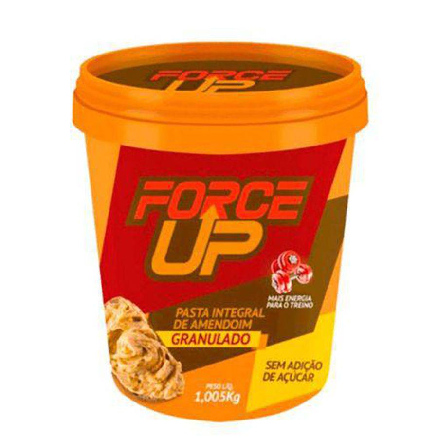 Pasta De Amendoim Torrado Granulado 1005g - Force Up
