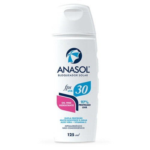 Protetor Solar Oil Free FPS 30 Anasol 125ml