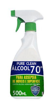 Pure Clean Para Assepsia de Móveis e Superficie 500mL