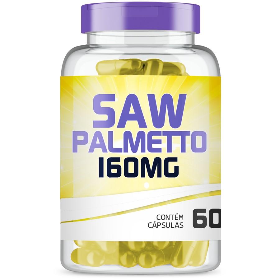 Saw Palmetto 160mg com 60 cápsulas
