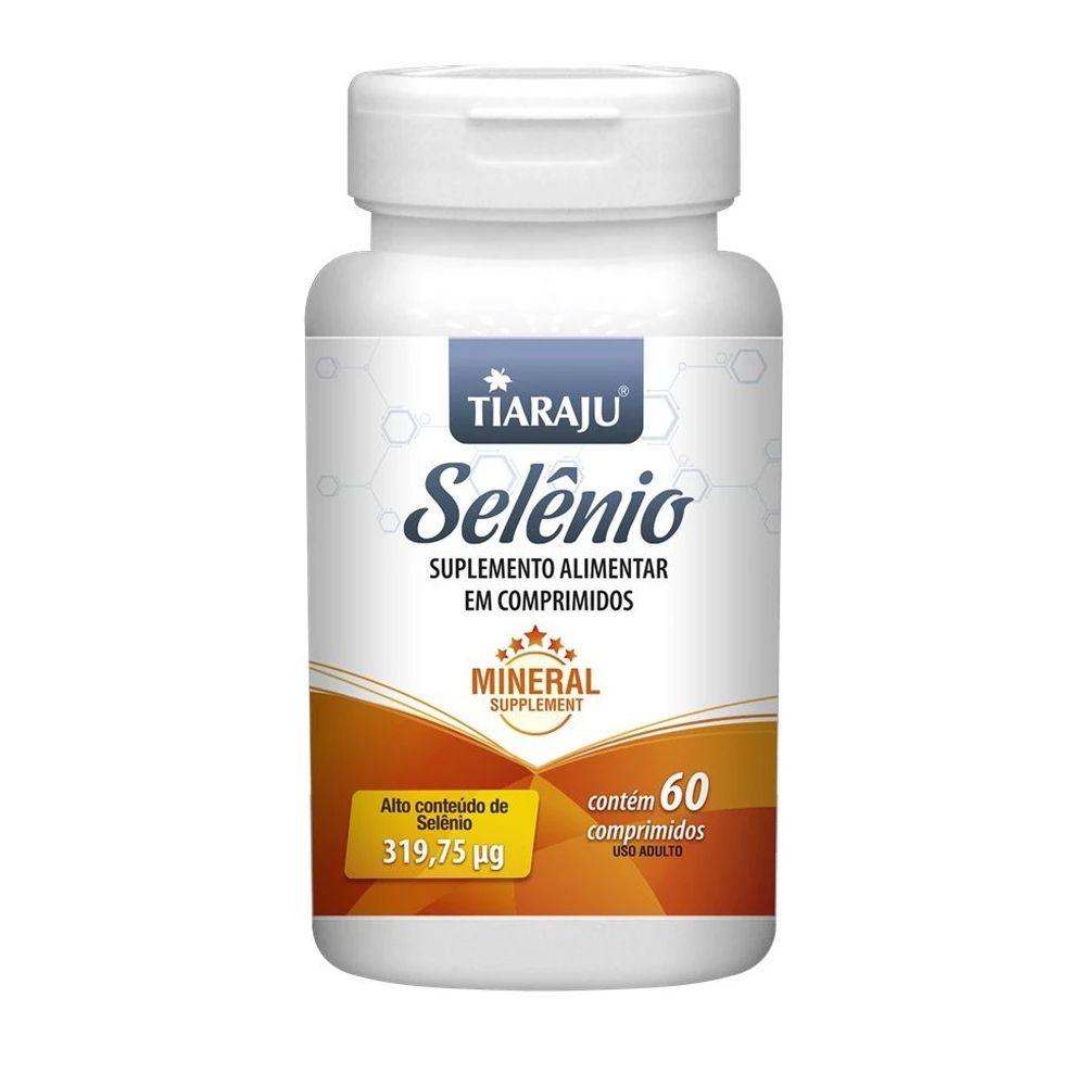 Selenio 319,75mcg com 60 comprimidos Tiaraju