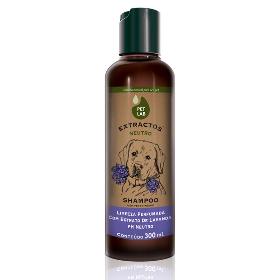 Shampoo Neutro para Cães 300mL Lavanda PetLab Extractos