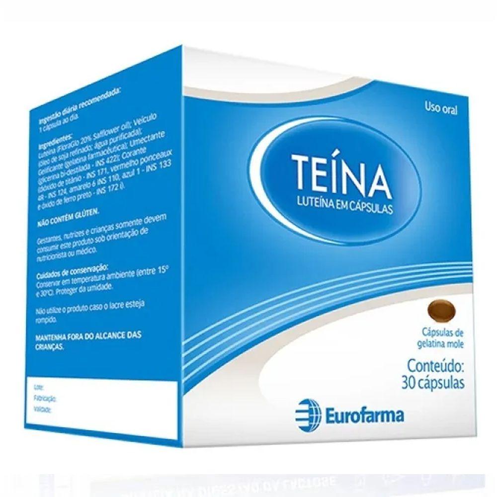 Teína Luteína 10mg 30 Capsulas De Gelatina