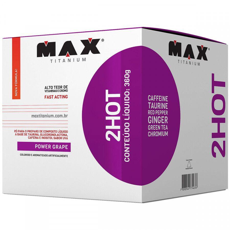Termogênico 2hot 360g Uva (Power Grape) Max Titanium