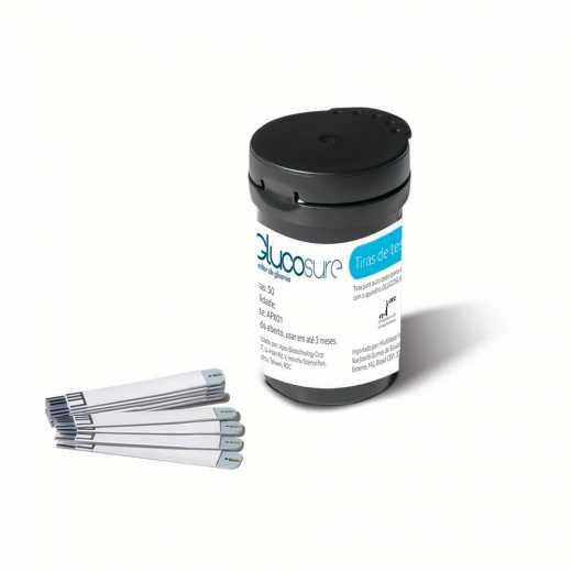 Tiras Multilaser para Medidor de Glicose com 50 unidades