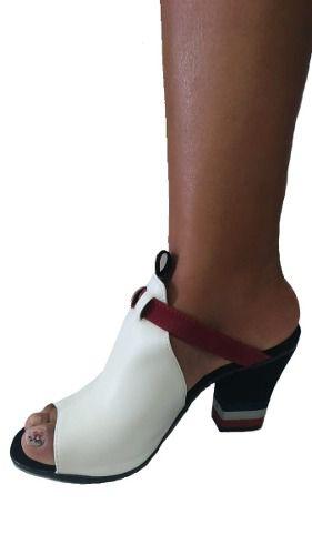 121860de03f ... Sandalia Tamanco Feminino Tipo Bota 2 Modelos Em 1 ...